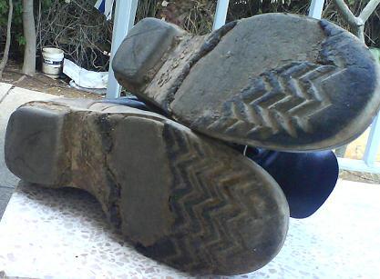 נעליים מפורקות